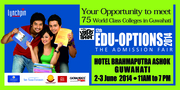 Lynchpin Admission Fair EduOption2014 at Guwahati on 2-3 June 2014