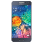 Samsung Galaxy Alpha Black (Silver-67158)