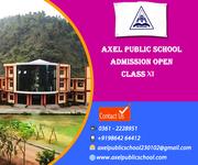 Axel Public School Admission Open for class XI for 2016-2017 session