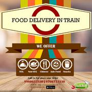 Food Delivery in Train by Fudcheff at Guwahati