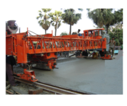 Concrete Paver And Vibratory Truss Screed