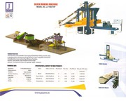 Automatic Fly Ash Bricks Making Machine model 7550 FHP
